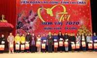 Chương trình Tết sum vầy và chúc tết đồng bào nghèo tỉnh Lai Châu