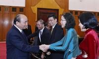 Thủ tướng Nguyễn Xuân Phúc gặp mặt các Đại sứ, Trưởng cơ quan đại diện Việt Nam mới được bổ nhiệm
