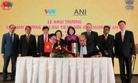 Đài TNVN ký kết thỏa thuận hợp tác với hãng thông tấn Ấn Độ ANI