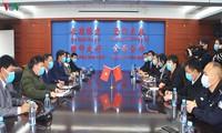 Thành phố Móng Cái (tỉnh Quảng Ninh) hỗ trợ vật tư y tế cho thành phố Đông Hưng (Trung Quốc)