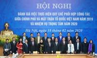 Phát huy vị trí, vai trò của Mặt trận Tổ Quốc Việt Nam, tăng cường khối đại đoàn kết toàn dân tộc