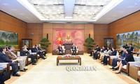 Phó Chủ tịch Quốc hội Uông Chu Lưu tiếp Nhóm Nghị sỹ với ASEAN của Quốc hội Cộng hòa Liên bang Đức
