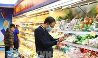 Các doanh nghiệp Hà Nội dự trữ hàng hóa tới 300% đảm bảo phục vụ người dân