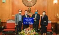 Công ty Samsung Việt Nam hỗ trợ 10 tỷ đồng chung tay chống dịch Covid-19