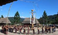 Lễ kết nghĩa của người Cơ tu ở huyện Tây Giang, tỉnh Quảng Nam