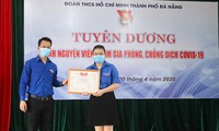 Thành phố Đà Nẵng tuyên dương 34 đoàn viên, thanh niên về thành tích chống dịch COVID-19