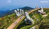 Cầu Vàng Đà Nẵng vào danh sách 'những cây cầu ngoạn mục thế giới'