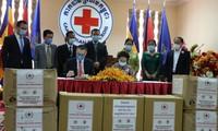 Hội Chữ thập đỏ hai nước Việt Nam – Campuchia chung tay chống COVID-19