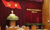 Ngày làm việc thứ ba của Hội nghị lần thứ 12 Ban Chấp hành Trung ương Đảng khoá XII