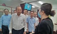 Phó Thủ tướng Thường trực Chính phủ Trương Hòa Bình làm việc tại tỉnh Phú Yên