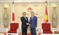 Bộ trưởng Bộ Công an Tô Lâm tiếp Đại sứ Nhật Bản