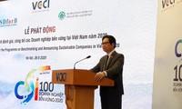 Chương trình đánh giá, công bố doanh nghiệp bền vững năm 2020