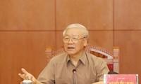 Tổng Bí thư, Chủ tịch nước Nguyễn Phú Trọng: Tiếp tục đẩy mạnh công tác phòng chống tham nhũng