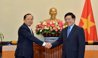 Việt Nam coi trọng hợp tác với Campuchia trên mọi lĩnh vực