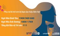 Việt Nam,Australia cùng các cơ quan LHQ chung tay bảo vệ phụ nữ và trẻ em