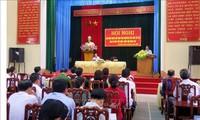 Phó Thủ tướng Chính phủ Phạm Bình Minh tiếp xúc cử tri tỉnh Thái Nguyên