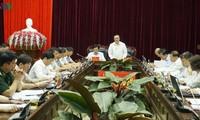 Trưởng Ban Đối ngoại Trung ương Hoàng Bình Quân làm việc với tỉnh Điện Biên