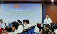 """VOV đồng tổ chức Diễn đàn trực tuyến """"Hiệp định EVFTA: Con đường đắc lợi - Con đường gian nan"""""""