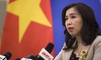 Việt Nam phản đối việc Trung Quốc điều máy bay chiến đấu tới Đá Subi