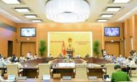 Ủy ban Thường vụ Quốc hội cho ý kiến về một số nội dung quan trọng