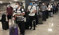 Đưa gần 600 công dân Việt Nam từ Hoa Kỳ và Singapore về nước an toàn