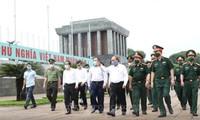 Mở cửa trở lại đón khách vào Lăng viếng Chủ tịch Hồ Chí Minh từ 15/8