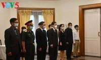 Lãnh đạo các nước và bạn bè quốc tế viếng nguyên Tổng Bí thư Lê Khả Phiêu
