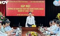 Ban tuyên giáo TW gặp mặt Trưởng Cơ quan đại diện Việt Nam ở nước ngoài nhiệm kỳ 2020-2023