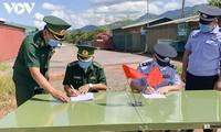 Tăng cường hợp tác giữa Đồn Biên phòng A Pa Chải, Việt Nam và Phân trạm Xuất nhập cảnh Long Phú, Trung Quốc