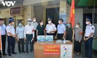 Vùng Cảnh sát biển 1 đồng hành cùng lực lượng tuyến đầu phòng chống dịch Covid-19