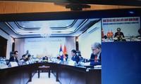 Hội đàm trực tuyến hai Ban đối ngoại Đảng CSVN với Ban đối ngoại TƯ Đảng NDCM Lào