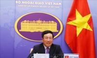 Phó Thủ tướng, Bộ trưởng Ngoại giao Phạm Bình Minh dự Hội nghị Bộ trưởng Ngoại giao trực tuyến G20