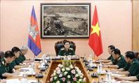 Bộ Quốc phòng Việt Nam và Campuchia tiếp tục củng cố, nâng cao hiệu quả các cơ chế hợp tác