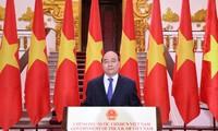 Thủ tướng Chính phủ Nguyễn Xuân Phúc chúc mừng Hội chợ Trung Quốc - ASEAN lần thứ 17