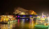 Đà Nẵng khởi động lại các hoạt động du lịch về đêm trên sông Hàn