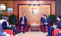 Trung ương Đoàn đẩy mạnh hợp tác với Tổ chức Y tế thế giới tại Việt Nam