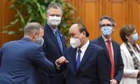 Việt Nam luôn mong muốn đẩy mạnh quan hệ với các tổ chức quốc tế