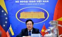 Tăng cường quan hệ hữu nghị và hợp tác Việt Nam – Venezuela