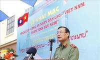 Triển lãm Công an nhân dân Lào-Việt-Thắm tình hữu nghị