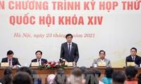 Kỳ họp thứ XI, Quốc hội khóa XIV, khai mạc ngày 24/3