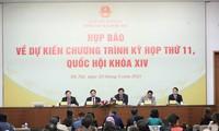 Khai mạc Kỳ họp thứ XI, Quốc hội khóa XIV