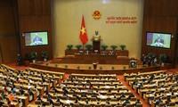 Quốc hội tiếp tục chương trình với nội dung về công tác nhân sự