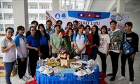 Giao lưu hữu nghị thanh niên Việt Nam - Lào - Campuchia nhân Tết Chôl Chnăm Thmây