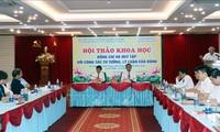 Hội thảo khoa học Hà Huy Tập với công tác tư tưởng, lý luận của Đảng