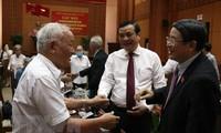 Phó Chủ tịch Quốc hội Nguyễn Đức Hải gặp mặt cán bộ Đặc Khu ủy Quảng Đà trong kháng chiến