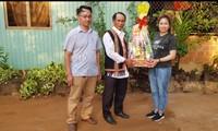 Bome, già làng uy tín trong cộng đồng dân tộc xã Hà Bầu
