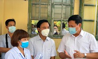 Đoàn công tác Ban Chỉ đạo Quốc gia phòng, chống dịch COVID-19 làm việc tại Thái Bình