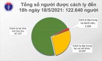 Chiều 18/5, thêm 48 ca mắc COVID-19 trong nước