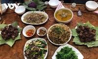 Đậm đà món thịt trâu của đồng bào Thái Tây Bắc