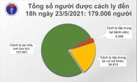 Chiều 23/5, có thêm 76 ca mắc COVID-19 ở Bắc Giang và Bắc Ninh